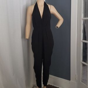 Very stylish ASTR black open back jumpsuit